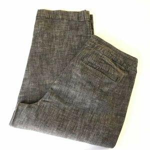 COLDWATER CREEK Natural Fit Crop Denim Pants Sz 16